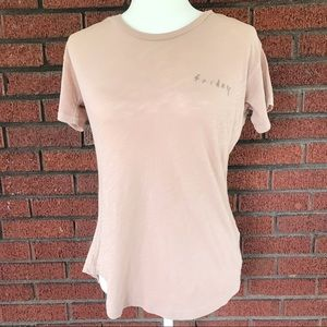 NWT Madewell Embroidered Friday Tee